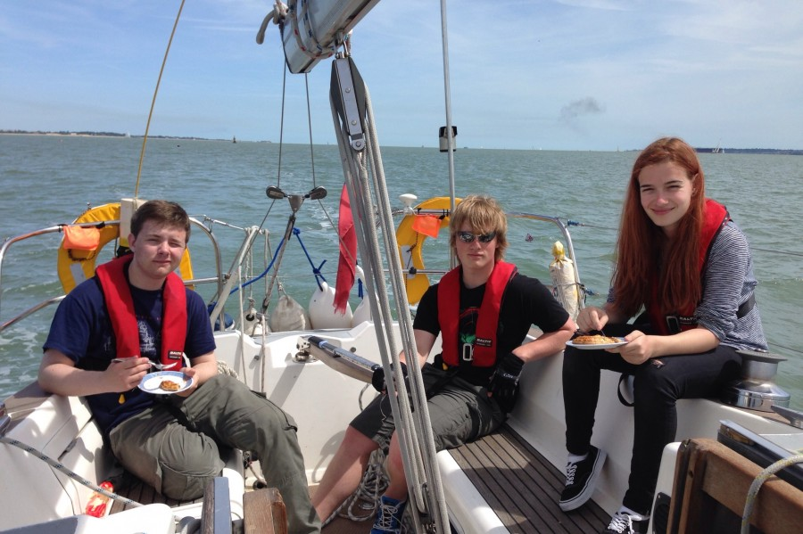 Youth Sailing - RYA Competent Crew