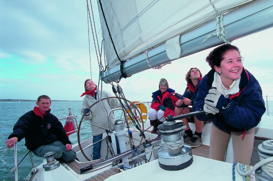Sailing Weekend in the Solent