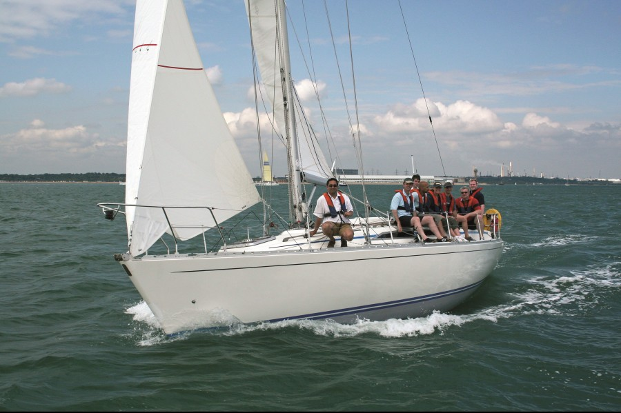 Fast Sailing on a Fastrak Day Skipper Course