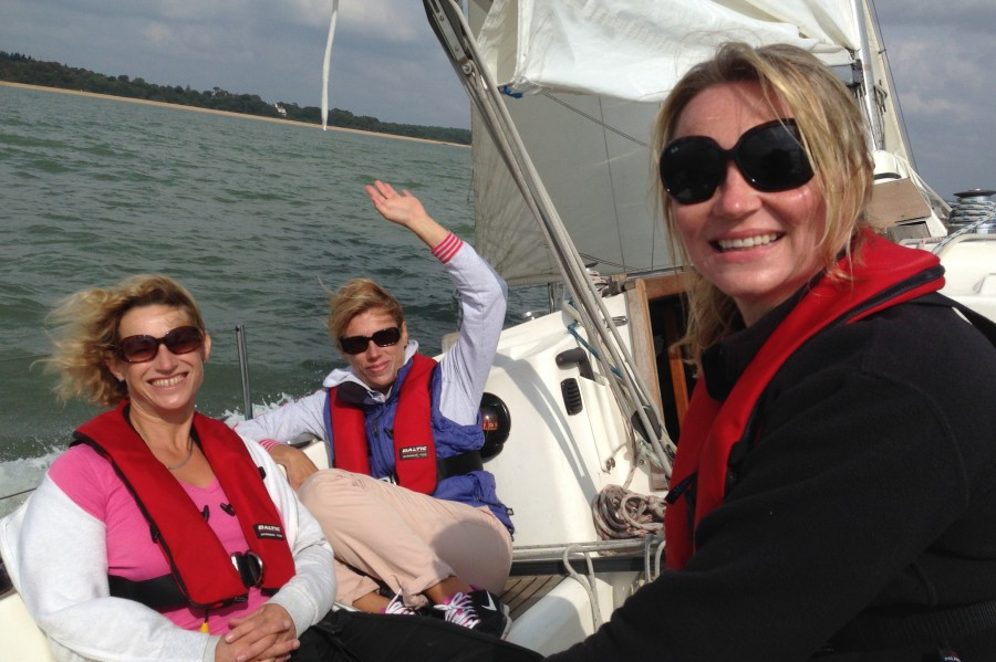 Great fun sailing on women only course