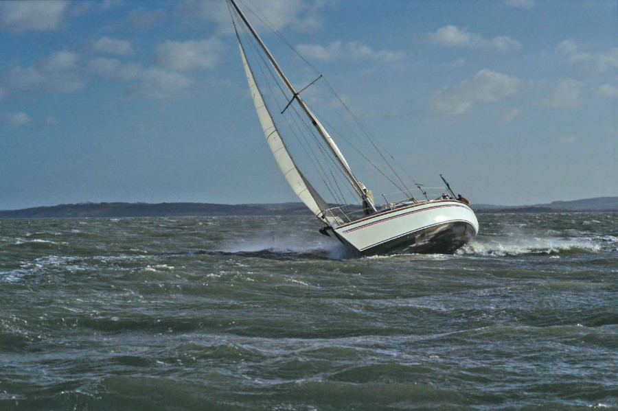 Heavy Weather Sailing in the Solent
