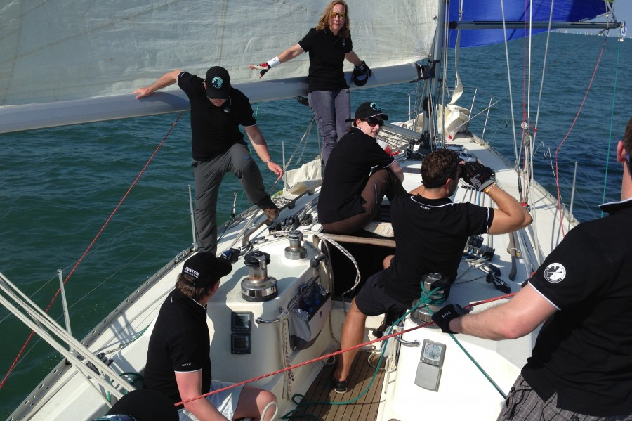 Round the Island race - Team Work