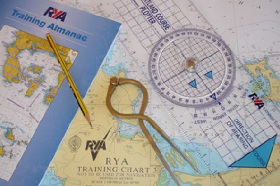 Learning Navigation on an RYA Day Skipper course