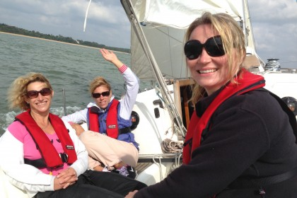 Ladies Only Sailing Courses